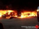 01. August 2014 - Brand eines Landwirtschaftlichen Gebäudes in Mönninghausen